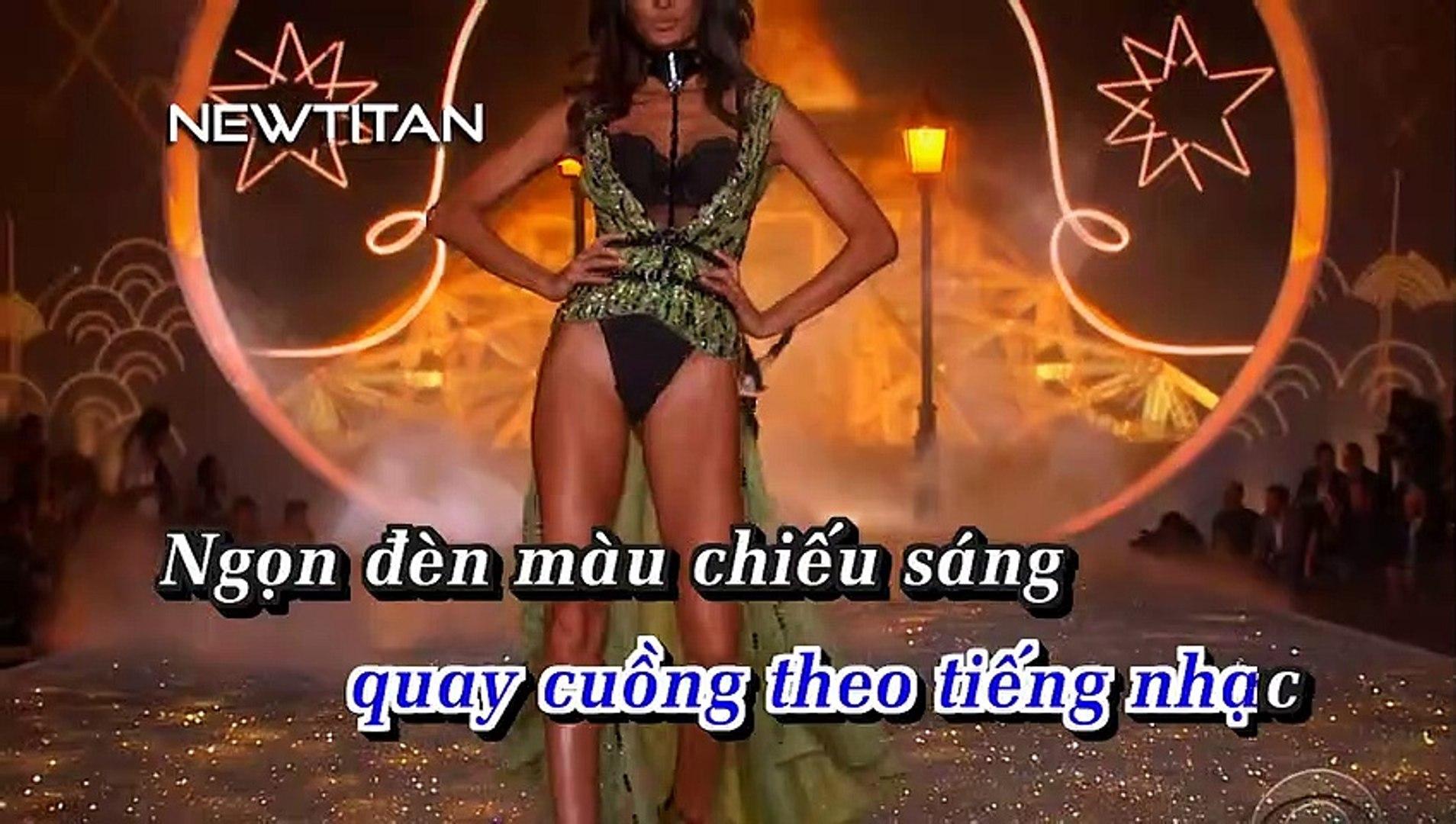 [Karaoke] Bướm Đêm (Remix 2015) - Lý Hào Nam [Beat]