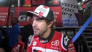 Comentarios de Fernando Alonso tras la Etapa 11 del Dakar
