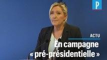 « J'ai pris ma décision », Marine Le Pen fait un grand pas vers la présidentielle de 2022
