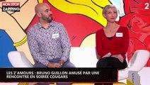 Les Z'amours : Bruno Guillon amusé par une rencontre en soirée cougars (Vidéo)