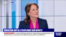 """Ségolène Royal: """"La liberté d'opinion n'est jamais un dérapage"""""""