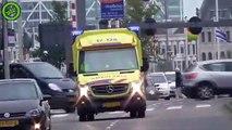 Ce conducteur d'ambulance conduit façon pilote de rallye
