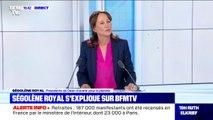 """Ségolène Royal: """"J'ai choisi ma liberté d'opinion et ma liberté d'expression"""" plutôt que la mission des pôles"""