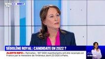 """Ségolène Royal: """"Bien sûr"""" que Marine Le Pen peut battre Emmanuel Macron"""