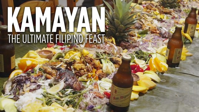 Kamayan Filipino Dinner