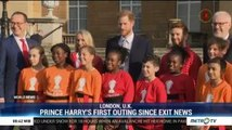 Prince Harry's First Outing since Exit News