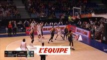 Les points de Fabien Causeur face à Khimki - Basket - Euroligue