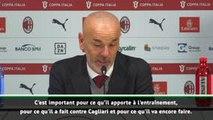 Milan - Pioli sur Ibrahimovic : ''Incroyable de voir un tel champion travailler si dur''