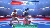Taekwondo vira videogame da vida real
