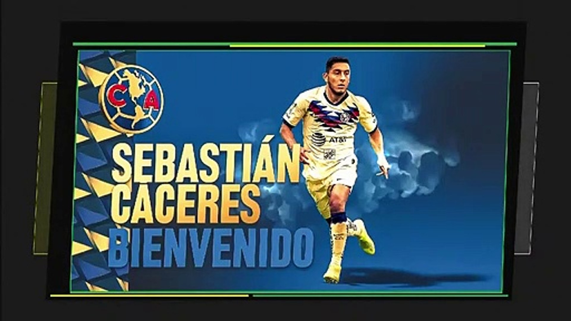 Sebastián Cáceres es nuevo jugador del América