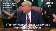 """Trump prédit que son procès en destitution sera """"très vite"""" bouclé"""