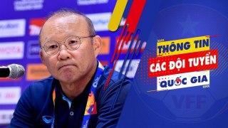 HLV Park nhận trách nhiệm về kết quả của U23 Việt Nam tại VCK U23 châu Á 2020   VFF Channel
