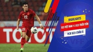 Highlights   U23 Việt Nam - U23 Triều Tiên   Kết thúc hành trình VCK U23 Châu Á 2020   VFF Channel