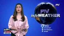 PTV: PTV INFO WEATHER: Walang sama ng panahon sa loob at labas ng PAR
