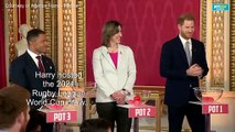 Prince Harry's first appearance since planning to step back as senior royal family member