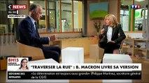 """Brigitte Macron est revenue sur la petite phrase du Président conseillant à un chômeur de """"Traverser la rue pour trouver un emploi"""": """"Il ne fallait pas dire ça.."""""""