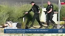 Glendale officers involved in use of force investigations file for accidental disability retirement