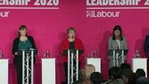Labour leadership hopefuls clash over handling of antisemiti