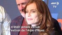 Isabelle Huppert pour la première fois au Festival de comédie de l'Alpe d'Huez