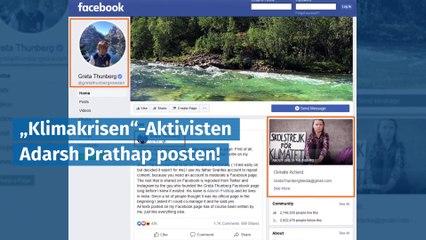 Facebook-Bug enttarnt Greta Thunberg