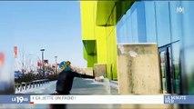Au Canada, il fait si froid que les habitants jouent au frisbee avec… leurs vêtements ! - VIDEO