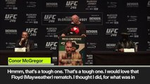 'I would love Floyd rematch' McGregor