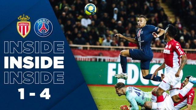 Inside : AS Monaco - Paris Saint-Germain