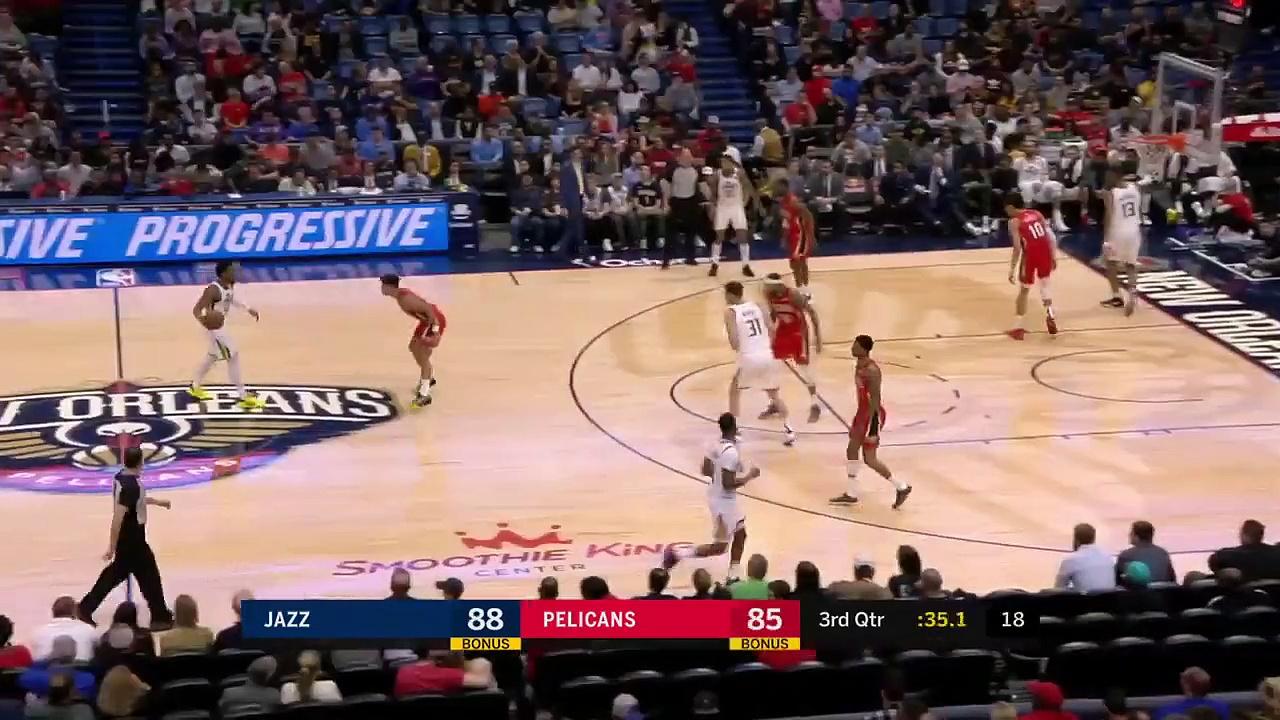 Utah Jazz 132 - 138 New Orleans Pelicans