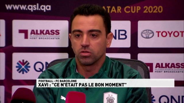 Xavi a bien refusé d'entraîner Barcelone
