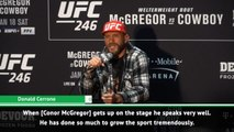 McGregor is the full package - Cerrone