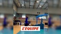 Le défi original de Steve Nash et Antoine Griezmann - Basket - WTF