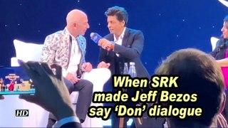 When SRK made Jeff Bezos say 'Don' dialogue