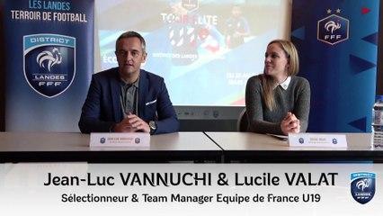 Interview Jean-Luc Vannuchi - Sélectionneur Équipe de France U19