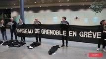 Les avocats du barreau de Grenoble en grève pour la rentrée de la cour d'appel