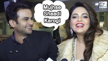 Sanket Bhosale-Sugandha Mishra Blushes When Asked About Their Relationship