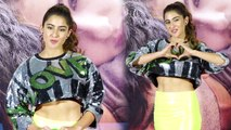 Sara Ali Khan looks like a dream in a sequin neon dress । Boldsky