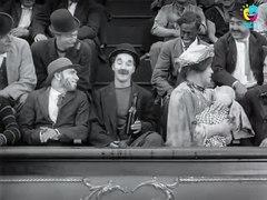 A Night in the Show 1915 Charlie Chaplin Charlotte Mineau Ed