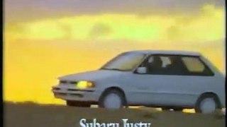 VÍDEO: Este era el anuncio del Subaru Justy, el tracción integral más barato capaz de seguir a un Range Rover
