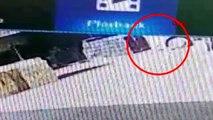 Isparta kamyonun kadını ezdiği an güvenlik kamerasında