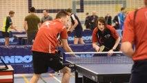 Championnats provinciaux namurois de tennis de table : les épreuves des doubles (1)