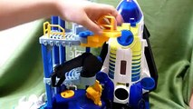 Fisher Price Imaginext Space Shuttle Spaceship and Tower-