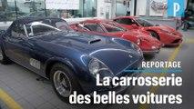 Ferrari, Tesla, voitures de collection... Ils réparent les véhicules de prestige