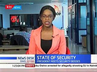 HAPPENING NOW: Uhuru applauds security agencies in Kenya