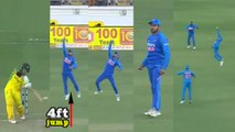 IND vs AUS 2nd ODI : Manish pandey takes a one handed blinder | Oneindia kannada