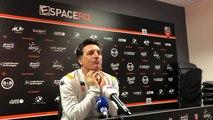 Christophe Pelissier, entraîneur du FC Lorient