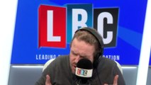James O'Brien's reaction to Eminem's lyrics about terror attack