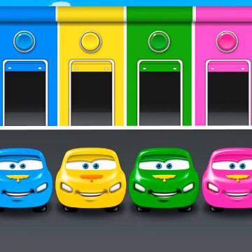 Learn Colors Videos Collection Train Toys