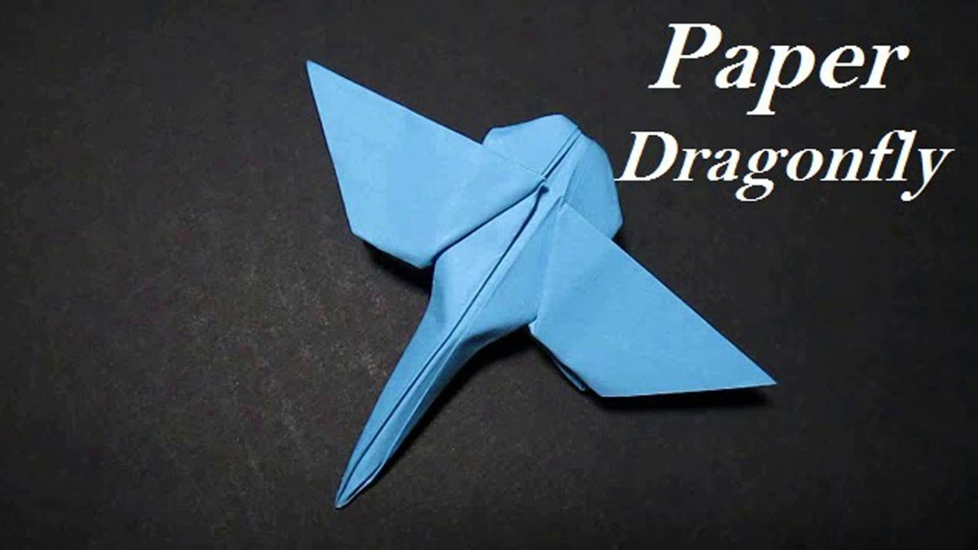 Origami Red Dragonfly | Origami insects, Origami dragon, Origami easy | 1080x1920