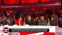 La fille de Cédric Chouviat en larmes sur le plateau de «Balance ton post» sur C8 - VIDEO