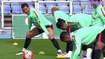 Cristiano Ronaldo TRAINING | Cristiano Ronaldo funny Moments | football skills